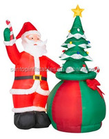 inflatable Santa Claus cartoon with best quality