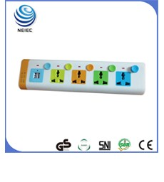 Promotion 13A British standard 1 gang 1 way wall switch