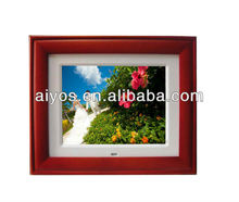 Hot sale square digital photo frame,super slim ,high-Brightness screen,Movie/Music, calender and alarm,cheap price!