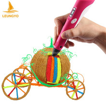 Muti-Color 3D Printer Pen Digital Pen Printer
