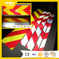CHINA HOT SALE Reflective Chevrons Tape For Truck ,Bus/Reflective Chevrons sticker