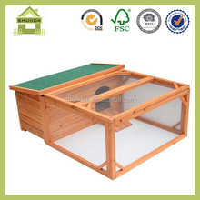 SDR16 flat packing waterproof rabbit house