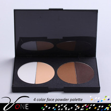 4 colors Contour Shading Face Powder Makeup Concealer Palette Nude Foundation
