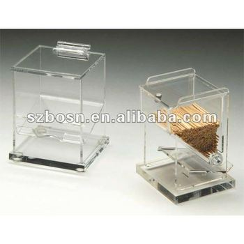 Acrylic Toothpick Dispenser