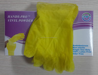 China Manufacturer Cheap Different Colors PVC Gloves