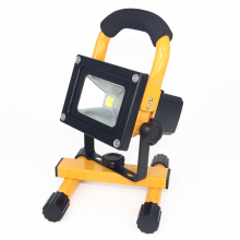 High power protable 10w rechargeable led flood light with GS mark certificate