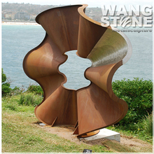 Large Metal Delicate Garden Corten Steel Sculpture
