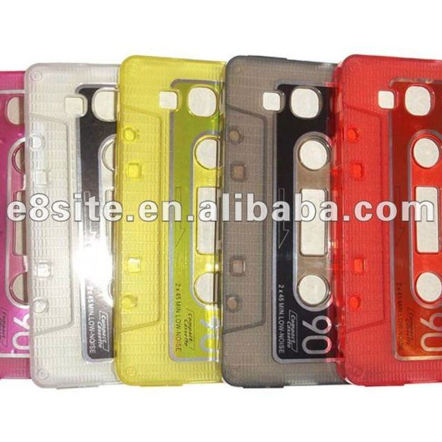 For SamSung Galaxy S3 i9300 Cassette TPU Case
