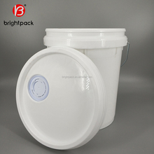 good quality best sale customized plastic barrel drums with cover 18L type