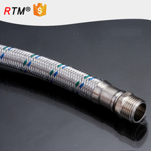 B17 stainless steel flexible braided metal hose braided gas hose