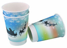 20oz custom design double wall paper cup hot