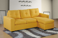 multi-functional discount new design sofa with ottoman can be on left or right