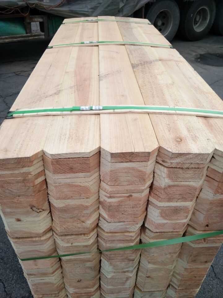 Barrier Board Cedar/Fir Wooden Fence