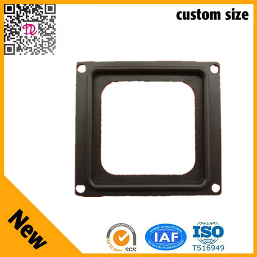 10inch square rubber edge with hole Speaker Accessory