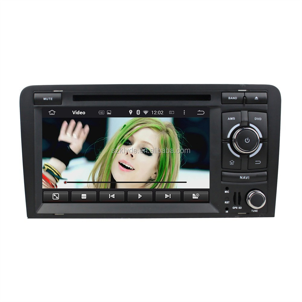 2 Din Car Dvd With Android 5.1.1 quad core Can Bus including for A3