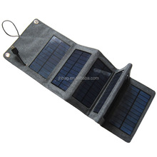 Foldable Solar Charger Outdoor power charging bag for mobile cellphone
