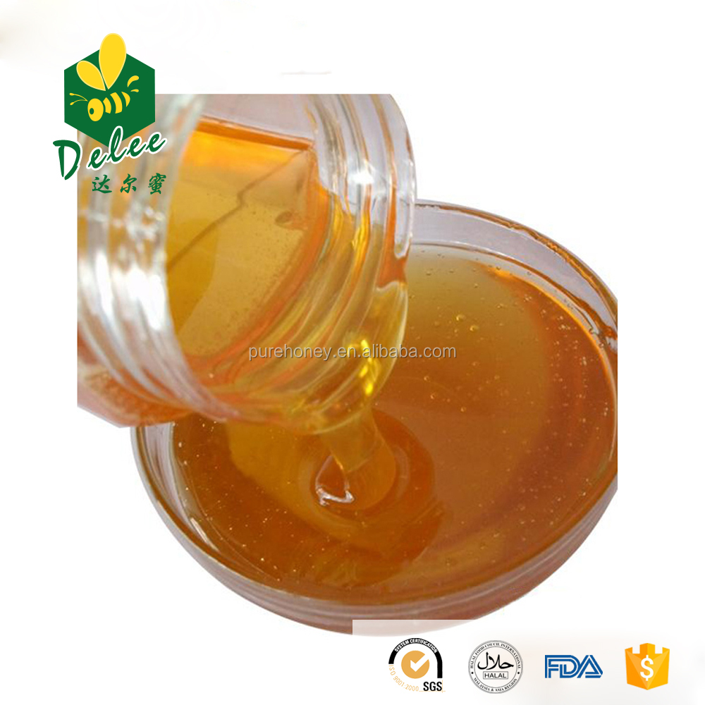 Natural pure honey from wild flowers of the exclusive quality