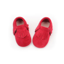 Genuine Leather Baby Shoes Suede Baby Moccasins Soft Sole