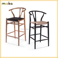 wishbone antique solid wood Y bar chair MKW01H