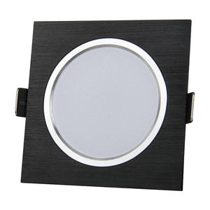 3W square led panel light down light