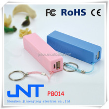 2014 new arrive portable mobile power bank 1800mAh travel partner PB014
