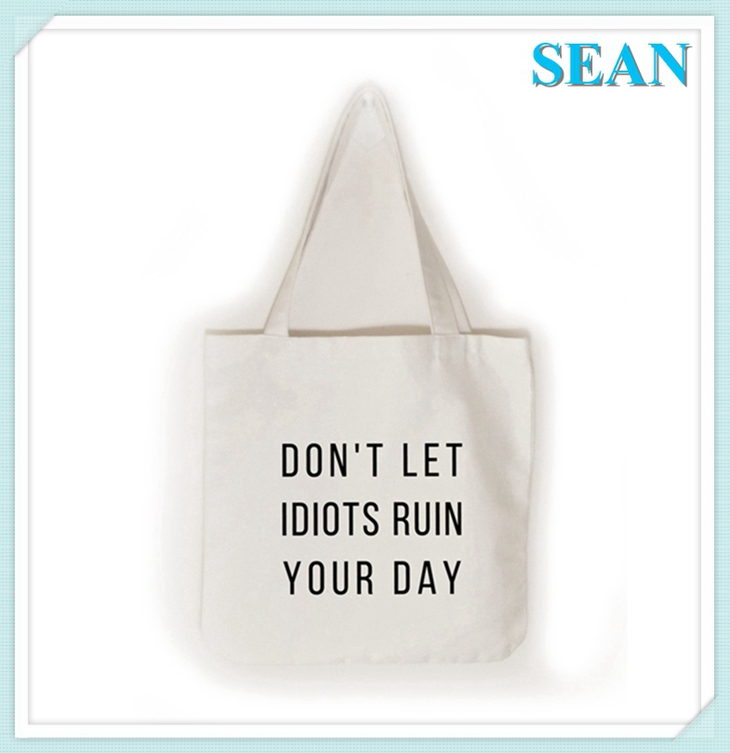 Eco Friendly Material Promotional Cotton Bag For Shopping Use