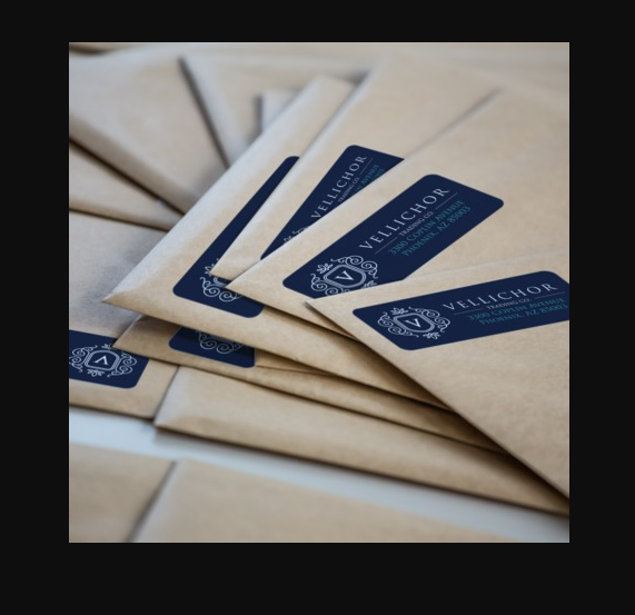 Great self sticking Return Address Labels