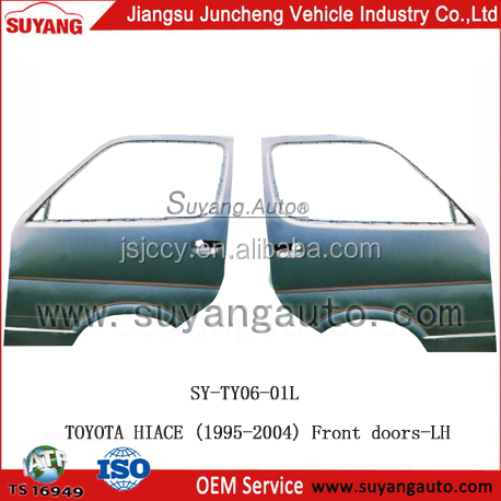 High Quality Steel Front Door LH For Japanese Used Toyota Hiace Diesel Van