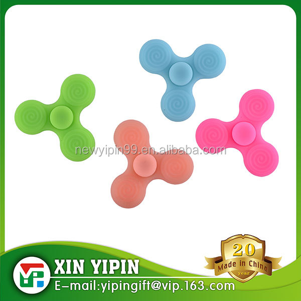 Hot sale Silicone hand spinner relieve stress silicone finger spinner