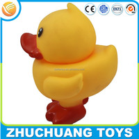 color painting yellow noise making giant large plastic duck