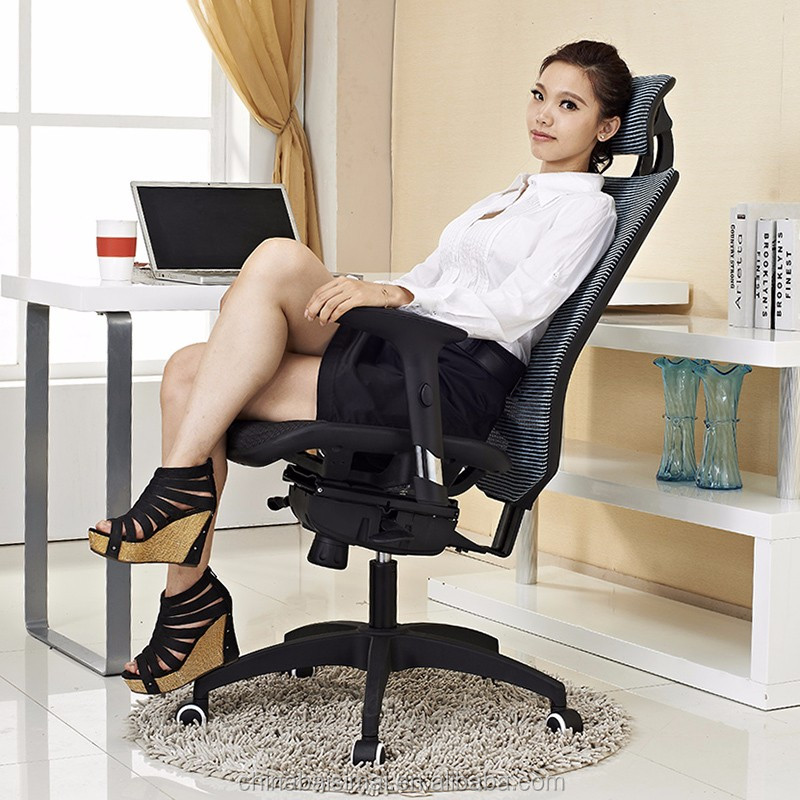 B04# Popular full mesh upholster ergonomic rocking executive chair