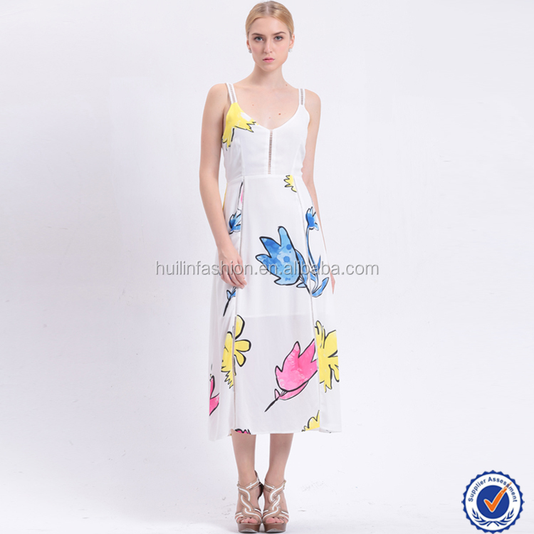 ladies fashion clothing spaghetti strap sexy midi dress cocktail dress summer evening dress design online wholesale shopping