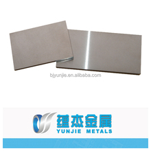 99.95% high purity polished Tungsten sheet