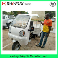 high quality Strong power tricycle cargo tricycle with cabin