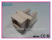 A123 Chinese supplier RJ45 amp CAT6 modular jack utp with 90 degree