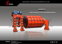 horizonal and culvert concrete pipe mould and machine for bigger diameter drain pipes