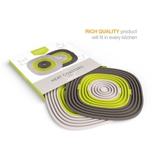 Top Selling Products Eco-friendly Heat Resistant Silicone Rubber Hot Pads Place Table Mats