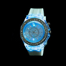 Newest Intercrew sports LED silicone Watch--Happy New Concept Of Watches/led silicone watch