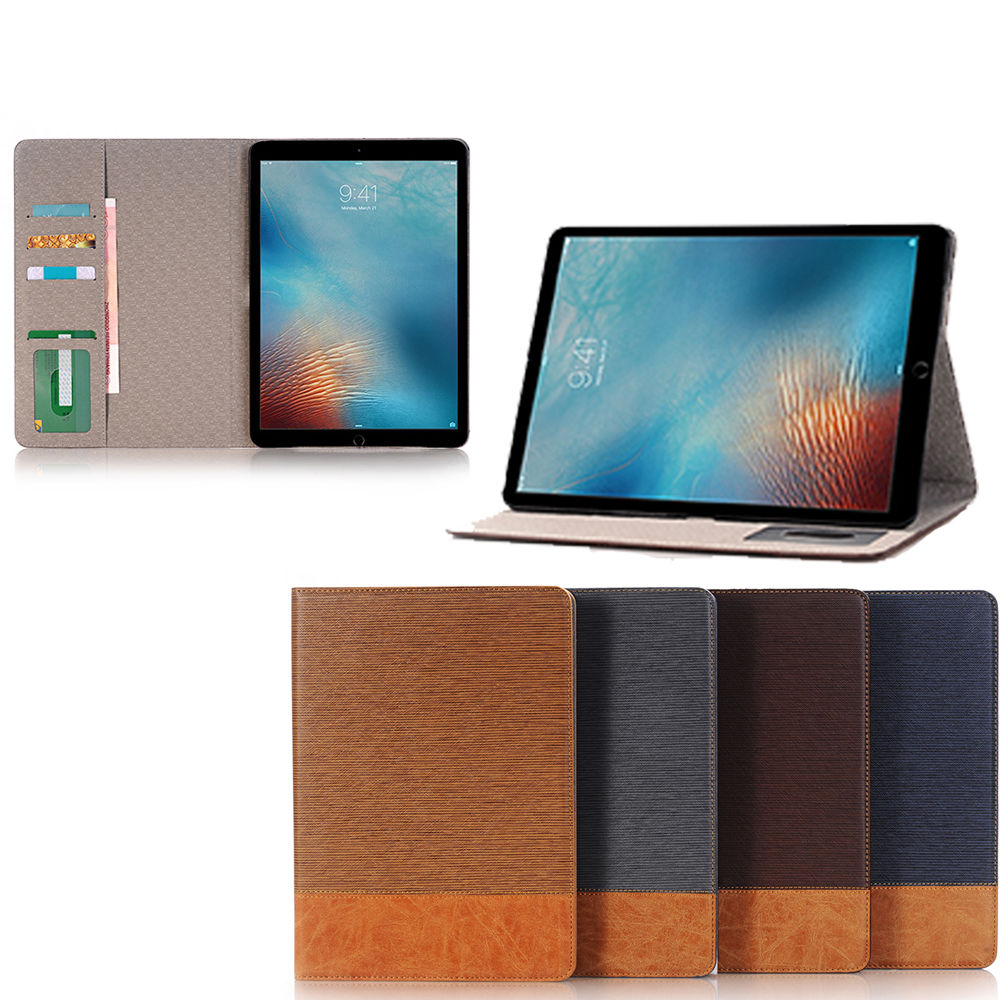 Folio Magnetic PU Leather Smart Wake/Sleep Cover Stand Case For iPad Pro 9.7""