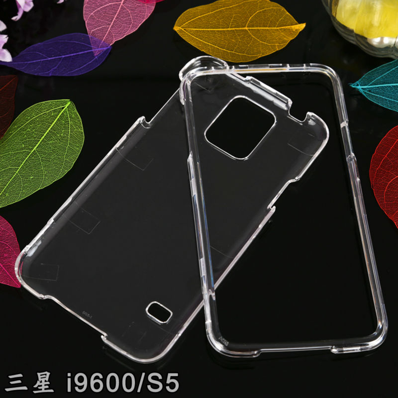 For Samsung Galaxy S5 i9600 Plastic Hard Clear crystal Case