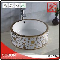 Top Counter Wash Basin Sink For Bathroom Parts