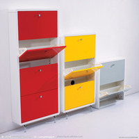 Wooden Shoe Rack Shoe Cabinet