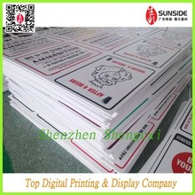 high density pvc foam board printing/ Foamcore Plastic PVC Sintra Sheet
