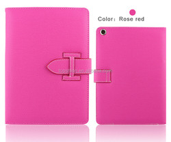 China wholesale for ipad mini 2 3 flip leather case with stand, handheld cover cases
