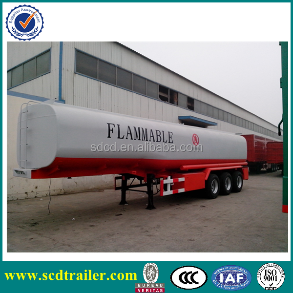 3 axles vacuum water lpg oil tanker trailer for trucks and trailers tanker trailer for sale