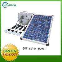Solar lamp kit system Solar outdoor lighting kit 30W energia solares