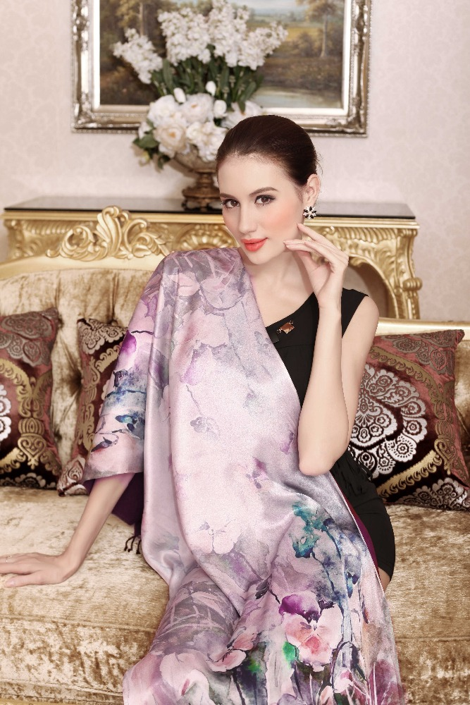 Chuxiu winter heated warm wholesale shawl