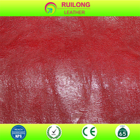 100% Poly Urethane Leather for making Sofas, Shoes, Bags and Cases Leather Fabric