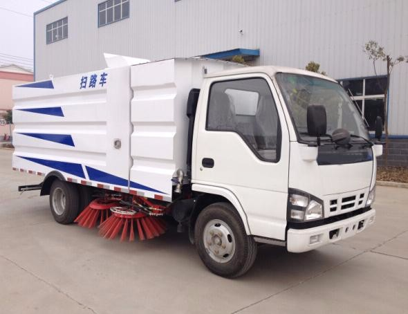 All new euro IV emission isuzu road sweeper truck for sale