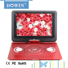 manufacture wholesale guality cheap portable dvd player 14.1 inch 16:9 led monitor retail wall display systems big dvd player